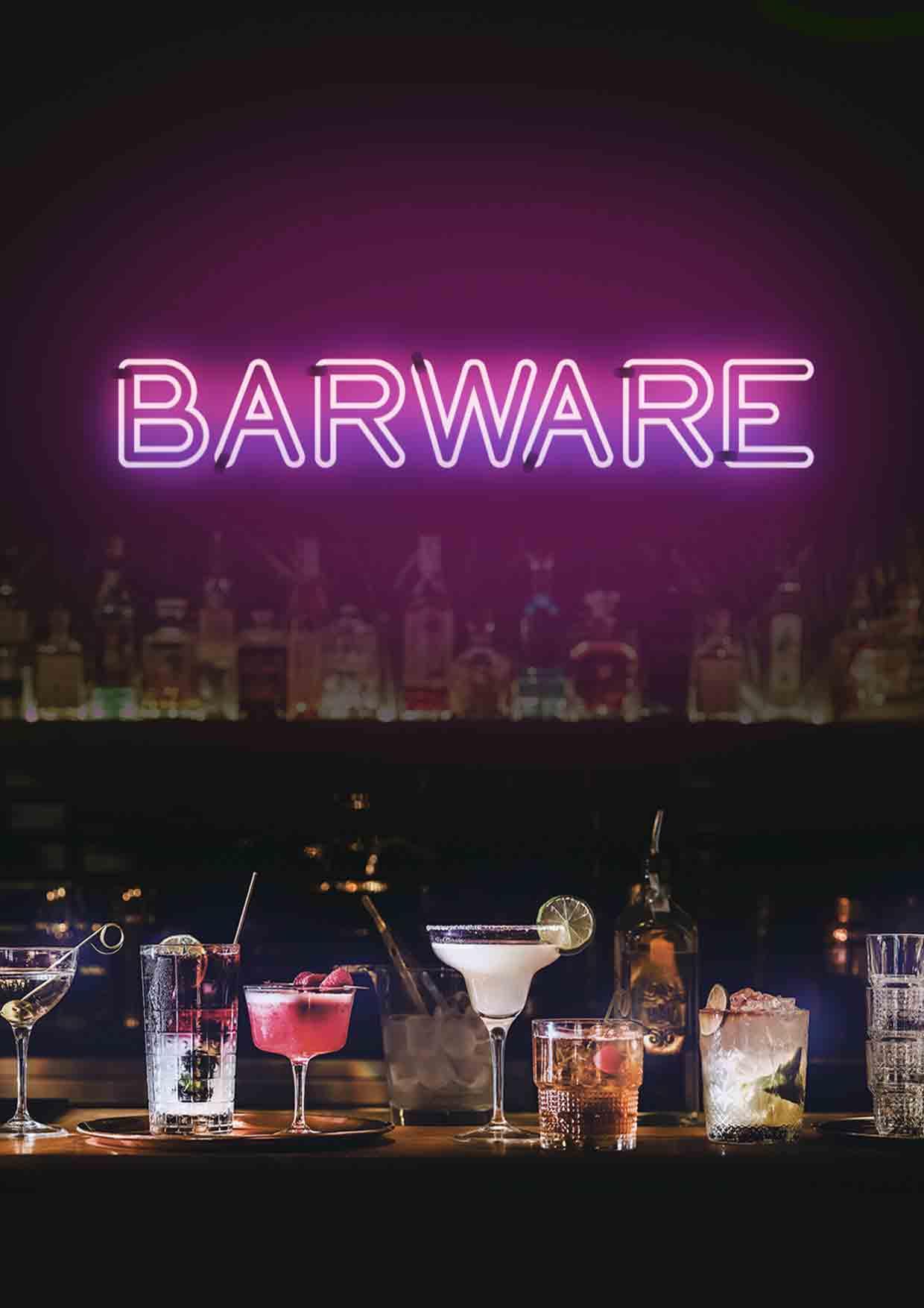 Barware, Cocktailgläser, bedruckte Barware, Barware bedrucken
