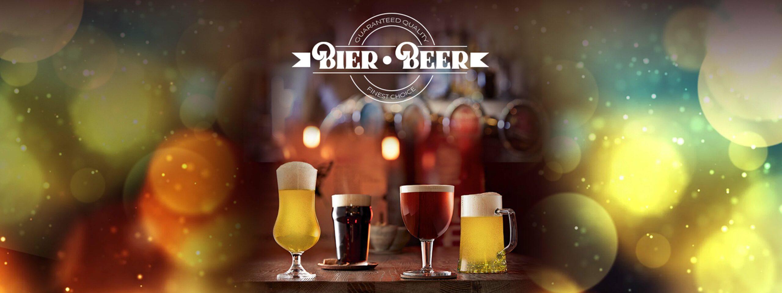 Bierkrüge, Biergläser, BIerglas